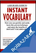 A Key By Key Guide To Instant Vocabulary